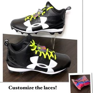 NEW Under Armour UA Crusher Football Cleats